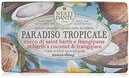 "Profumi e cosmetici Sapone ""Cocco e frangipane"" - Nesti Dante Paradiso Tropicale St. Barths Coconut & Frangipane Soap"