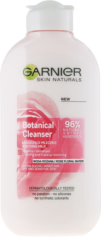 "Latte struccante ""Acqua di rose"" - Garnier Skin Naturals Botanical Rose Water Milk"