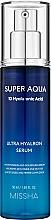 Profumi e cosmetici Siero viso idratante - Missha Super Aqua Ultra Hyalron Serum
