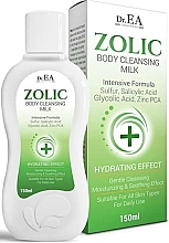 Profumi e cosmetici Latte detergente - Dr.EA Zolic Body Cleansing Milk