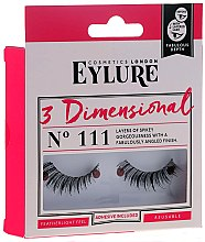 Profumi e cosmetici Ciglia finte №111 - Eylure 3D Dimensional Lashes