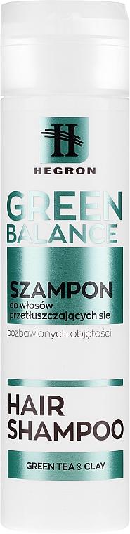 Shampoo per capelli grassi - Hegron Green Balance Hair Shampoo