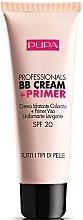 Profumi e cosmetici Crema BB idratante + base trucco SPF 20 - Pupa Profesional BB Cream + Primer Tone-Cream