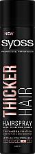 Profumi e cosmetici Lacca per capelli con fibre, fissazione extra forte dei capelli - Syoss Thicker Hair
