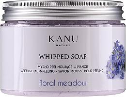"""Profumi e cosmetici Sapone peeling """"Prato fiorito"""" - Kanu Nature Floral Meadow Peeling Soap"""