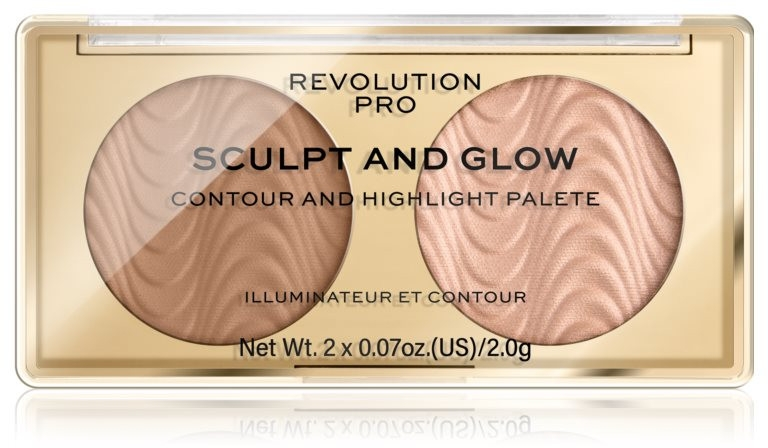 Palette per il contouring del viso - Makeup Revolution Pro Sculpt And Glow — foto N1