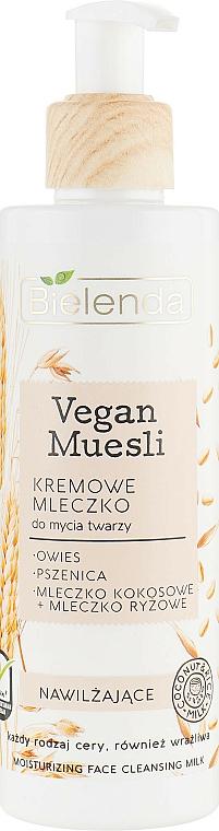 Latte detergente idratante - Bielenda Vegan Muesli Moisturizing Face Cleaning Milk