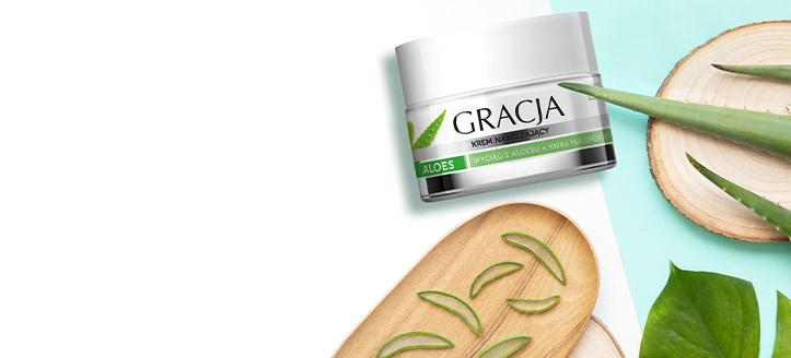 Ricevi in regalo una crema idratante, acquistando prodotti Gracja da 8 €