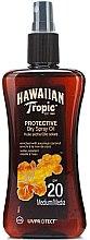 Profumi e cosmetici Olio secco abbronzante - Hawaiian Tropic Protective Dry Oil SPF20