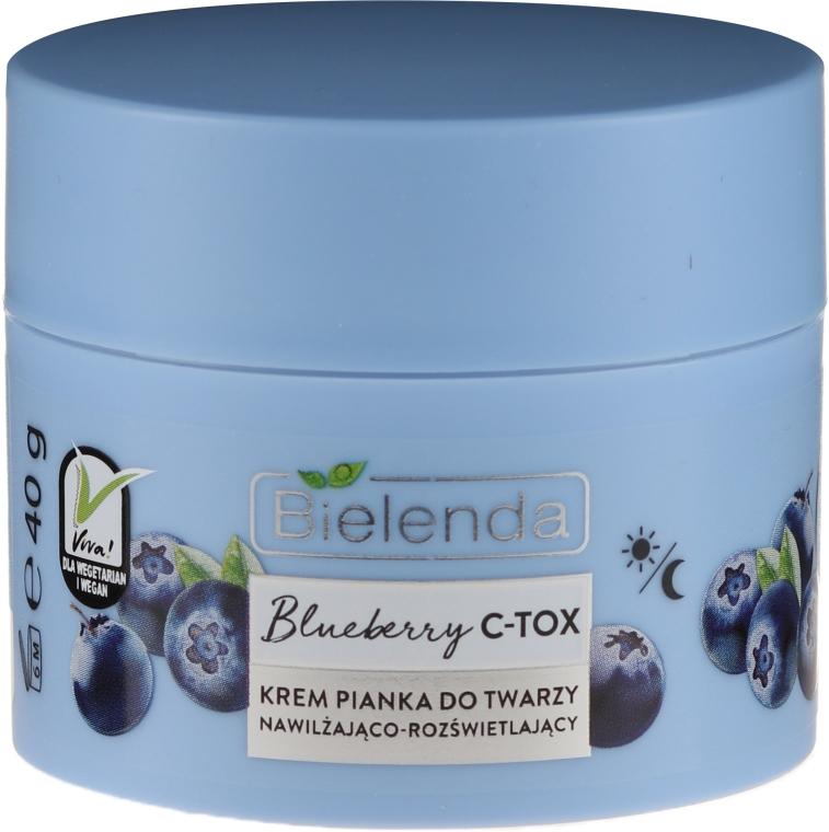 Crema viso idratante e illuminante - Bielenda Blueberry C-Tox Face Cream — foto N2