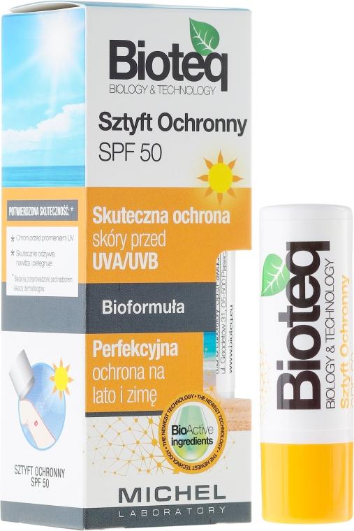 Balsamo labbra - Bioteq Lip Balm Sun Protector SPF 50