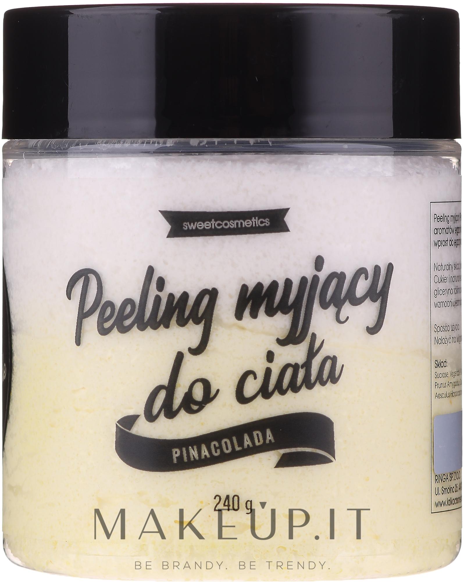 "Peeling corpo ""Pina Colada"" - Lalka — foto 240 g"