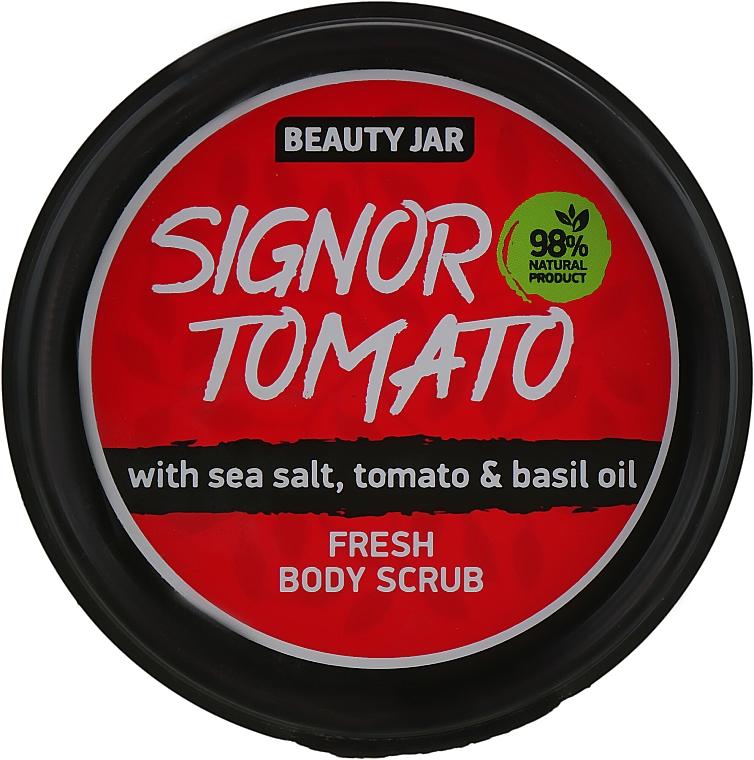 "Scrub corpo ""Signor Tomato"" - Beauty Jar Fresh Body Scrub"