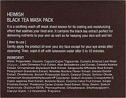 Maschera lenitiva per il viso - Heimish Black Tea Mask Pack — foto N3