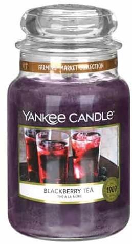 Candela profumata in vetro - Yankee Candle Blackberry Tea — foto N1