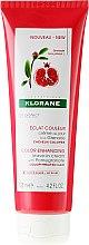 Profumi e cosmetici Crema per capelli colorati - Klorane Color Enhancing Leave-In Cream With Pomegranate