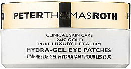 Profumi e cosmetici Patch occhi in idrogel - Peter Thomas Roth 24k Gold Pure Luxury Lift & Firm Hydra-Gel Eye Patches