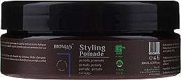 Profumi e cosmetici Pomata per capelli - BioMan Styling Pomade