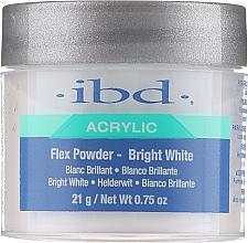 Profumi e cosmetici Polvere acrilica, bianco brillante - IBD Flex Powder Bright White