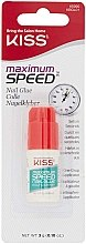 Profumi e cosmetici Colla per unghie - Kiss Maximum Speed Nail Glue