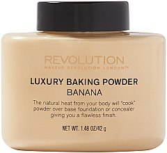 Profumi e cosmetici Cipria alla banana - Makeup Revolution Luxury Baking Powder Banana