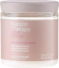 Profumi e cosmetici Maschera capelli idratante - Alfaparf Lisse Design Keratin Therapy Rehydrating Mask