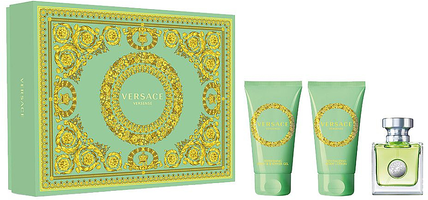 Versace Versense - Set (edt/50ml + b/lot/50ml + sh/g/50ml)