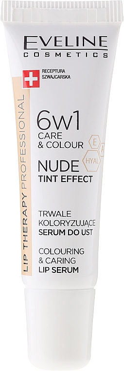 Siero labbra 6 in 1 - Eveline Cosmetics Lip Therapy Proffesional Tint