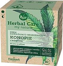 """Profumi e cosmetici Crema viso """"Canapa al collagene"""" - Farmona Herbal Care"""