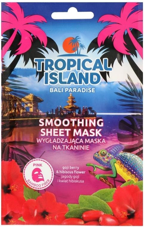 Maschera in tessuto - Marion Tropical Island Bali Paradise Smoothing Sheet Mask