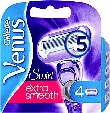 Profumi e cosmetici Lamette sostituibili, 4 pezzi - Gillette Venus Swirl