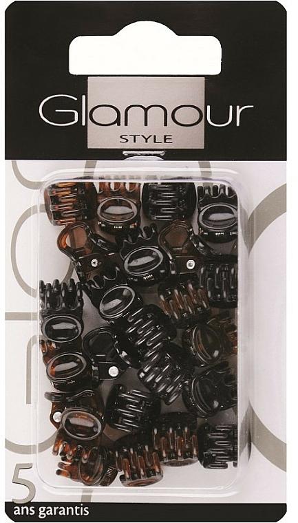 Forcine per capelli, 0222, marrone-nero - Glamour
