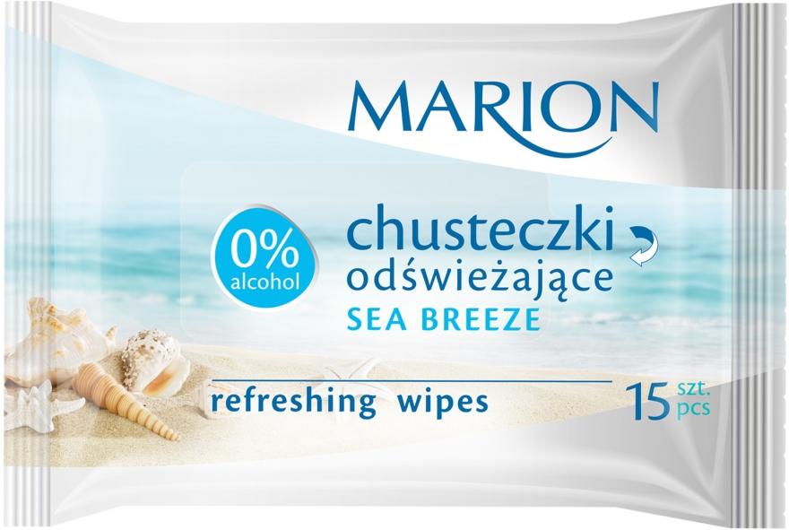 "Salviette rinfrescanti ""Sea Breeze"", 15 pz - Marion"