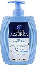 Profumi e cosmetici Sapone liquido - Felce Azzurra Puro Per Pelli Sensibili