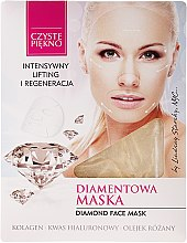 "Profumi e cosmetici Patch viso ""Diamante - Czyste Piekno Diamond Face Mask"