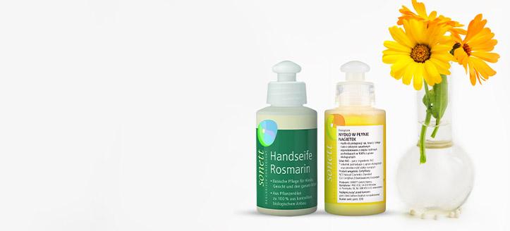 Acquistando prodotti Sonett da 9 €, ricevi in regalo un sapone liquido a tua scelta