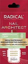 Profumi e cosmetici Ricostruttore di unghie concentrato - Farmona Radical Nail Architect