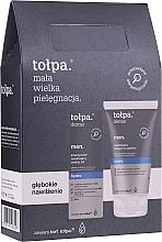 Profumi e cosmetici Set - Tolpa Dermo Men Hydro (a/sh/balm 125 ml + f/gel 75 ml)