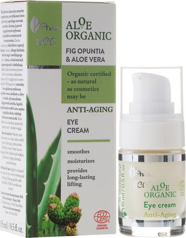Crema contorno occhi all'estratto di fico d'India e aloe - Ava Laboratorium Aloe Organiic Eye Cream