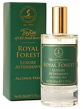 Profumi e cosmetici Taylor of Old Bond Street Royal Forest Aftershave Lotion - Lozione dopobarba