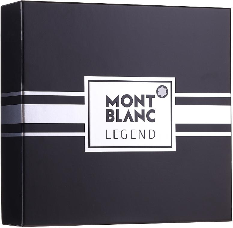 Montblanc Legend - Set (edt/100ml + ash/balm/100ml + edt/mini/7.5ml) — foto N1