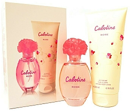 Profumi e cosmetici Gres Cabotine Rose - Set (edt/100ml + b/lot/200ml)