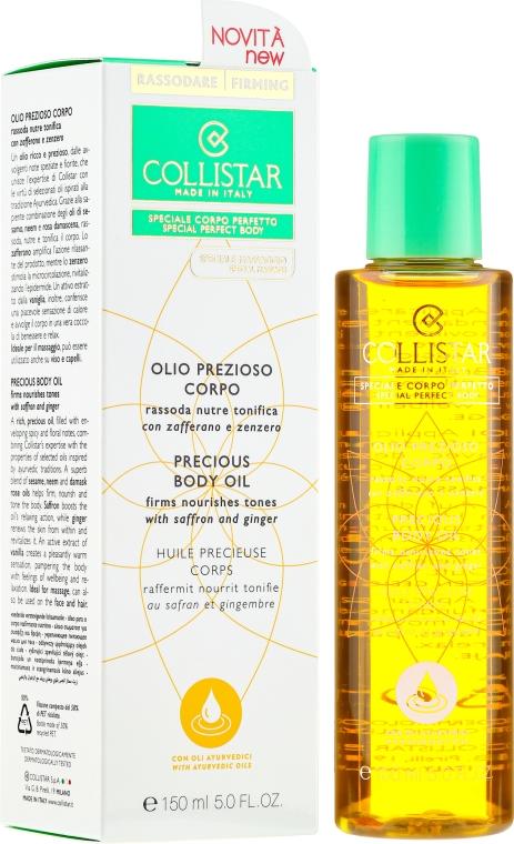 Olio corpo - Collistar Precious Body Oil Firms Nourishes Tones