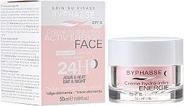Profumi e cosmetici Crema viso idratante 24 ore - Byphasse Cream Hydra-Infini Energie SPF8