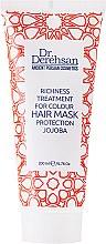 """Profumi e cosmetici Maschera capelli """"Protezione del colore """"con olio di jojoba - Dr. Derehsan Color Protection Hair Mask"""