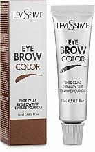 Profumi e cosmetici Tinta per sopracciglia - LeviSsime Eye Brow Color