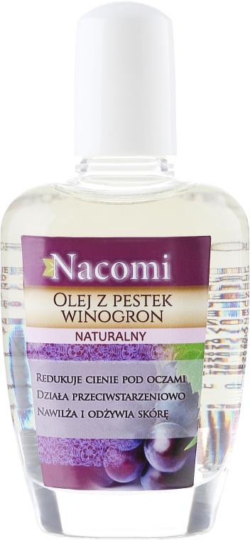 Olio d'uva per viso e corpo - Nacomi Natural