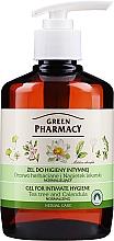 Profumi e cosmetici Gel per l'igiene intima con estratto di calendula e tea tree - Green Pharmacy