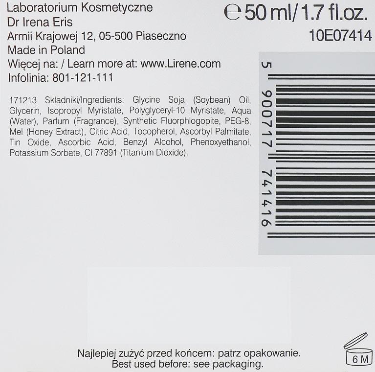 Maschera viso per massaggio con miele - Lirene Lab Therapy Nourishment Linoleique Exclusive Mask — foto N3