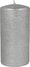 Profumi e cosmetici Candela decorativa in argento, 7x10cm - Artman Glamour